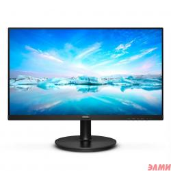 "LCD PHILIPS 23.8"" 241V8L (00/01) черный {VA 1920x1080 75Hz 4ms 250cd 3000:1 8bit  178/178 D-Sub HDMI1.4 AdaptiveSync FlickerFree AudioOut VESA}"